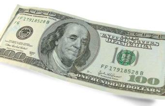 Банкнота США 100 долларов