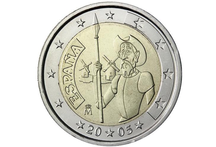 Испанские 2 евроцента