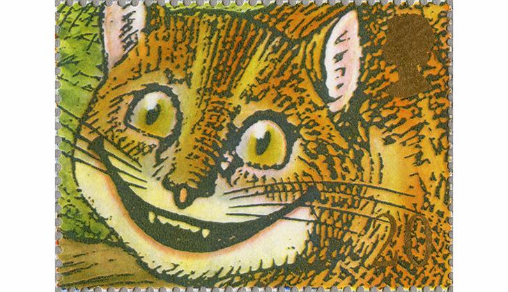 Марка: Чеширский кот, 1990