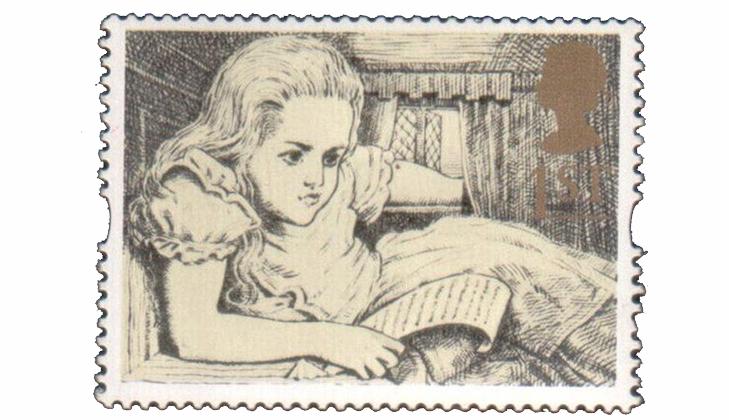 Марка: Алиса в домике, 1994
