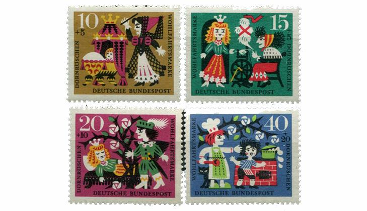 Детские марки - сказки