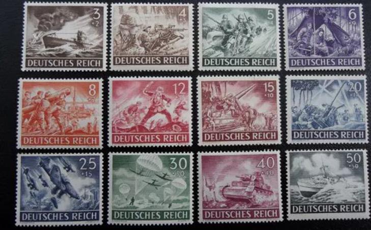 Серия немецких марок, вышедшая после начала Второй мировой войны