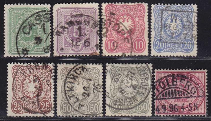 Марки «Германской имперской почты»