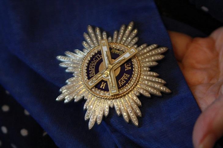 Серебряная звезда ордена Святого апостола Андрея Первозванного
