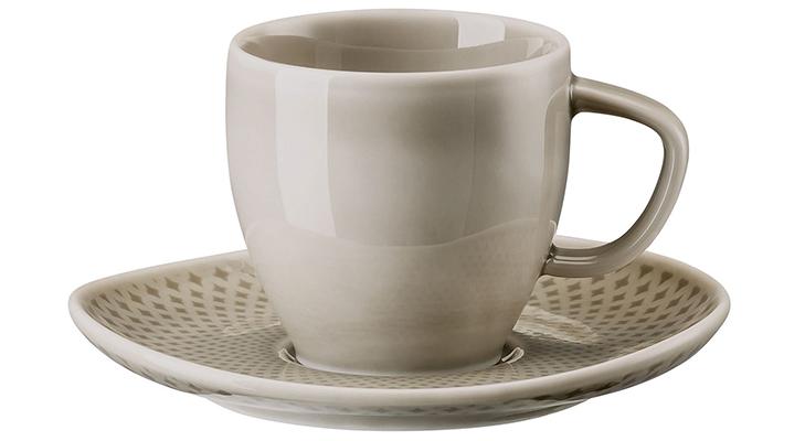 Кофейные пары из фарфора  для эспрессо