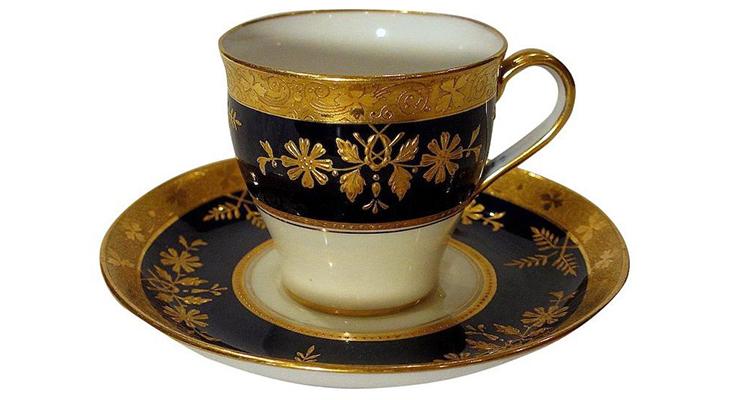 Кофейные пары из фарфора для кофе по-восточному