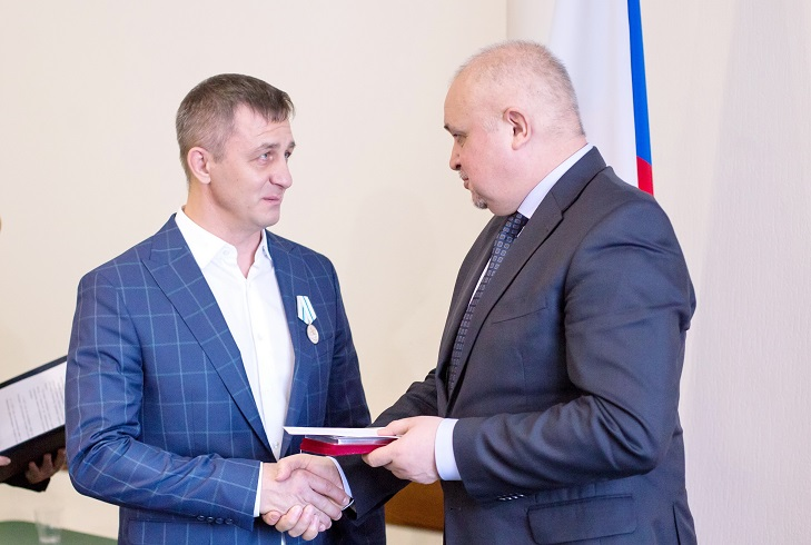 "Медаль ""За веру и добро"" Сергея Погорелого"