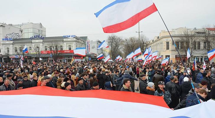 Протесты в Крыму в феврале-марте 2014