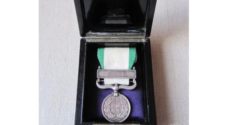 """Японская медаль """"За участие в тайваньском походе"""""""