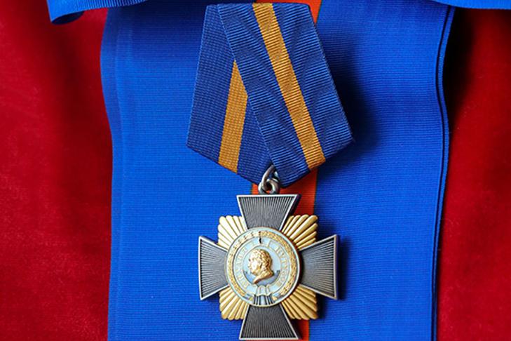 Вручение Ордена Кутузова Российской Федерации