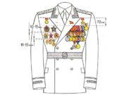 Порядок ношения орденов и медалей СССР