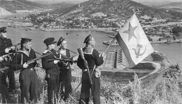 Победа над Японией в 1945 году