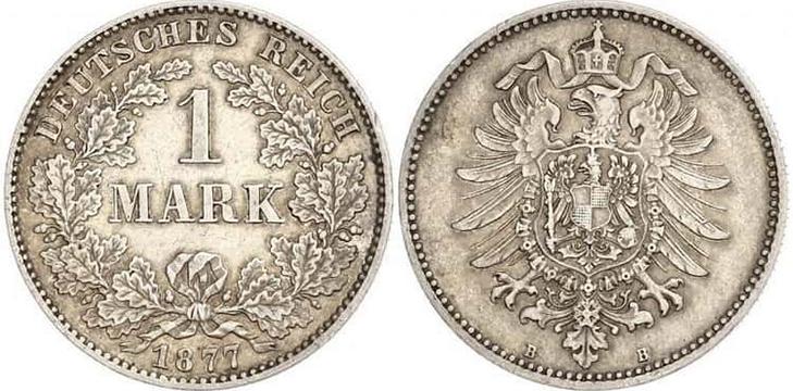 1 марка 1877 года