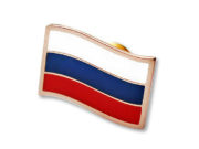 Значок «Российский флаг»