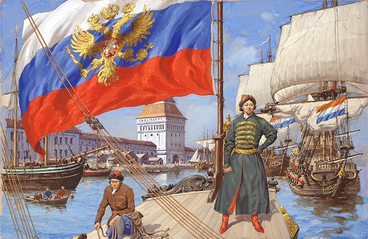 Триколор Петра Великого