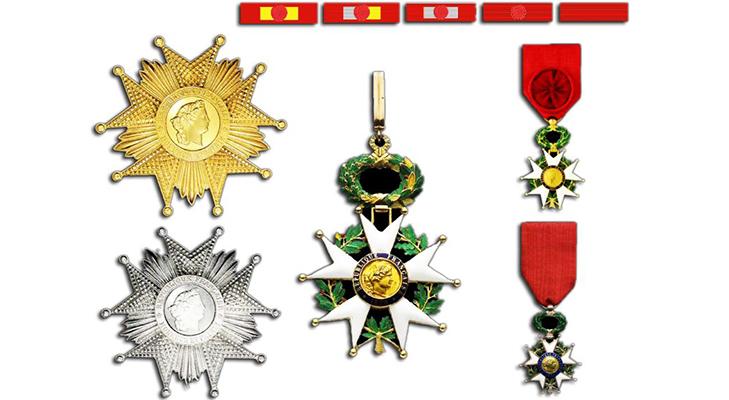 Степени Ордена Почетного легиона