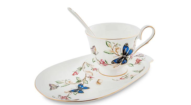 Фарфоровые чайные пары из Китая
