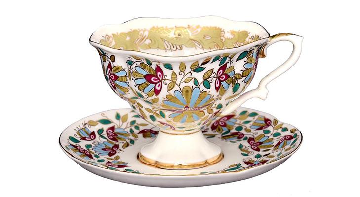 Костяной фарфор - чайные пары