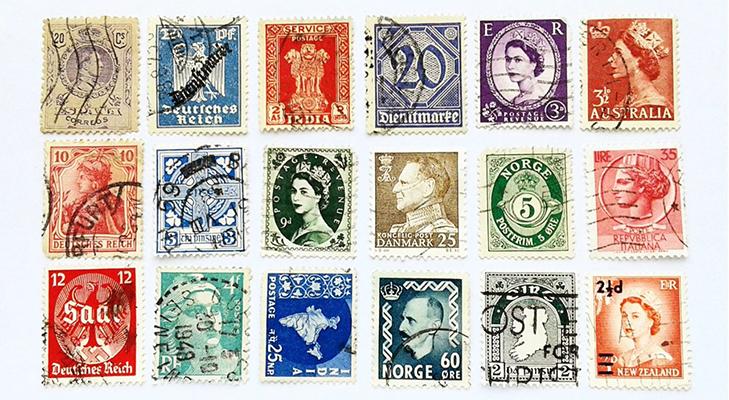 Ассортимент интернет-магазина почтовых марок
