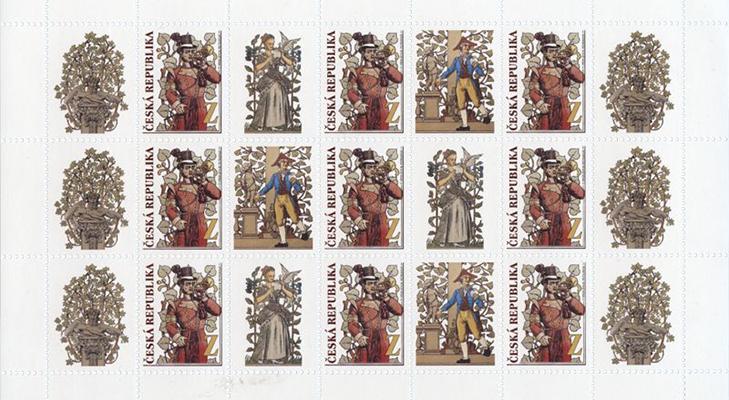 Доставка почтовых марок