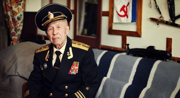 Ветеран Великой Отечественной Войны Альберт Семушин