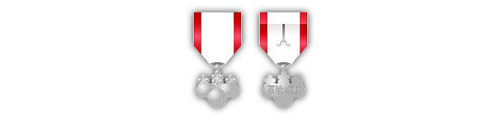 Орден Восходящего солнца 8й степени