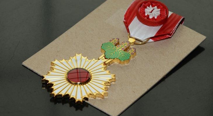 Орден Восходящего солнца - историческая справка