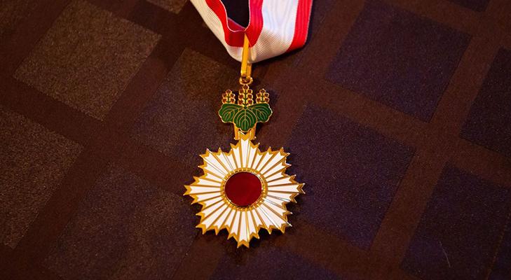 Орден Восходящего солнца - первый кавалер