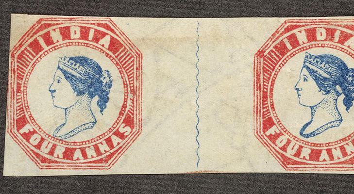 Индийская марка, 1854 год