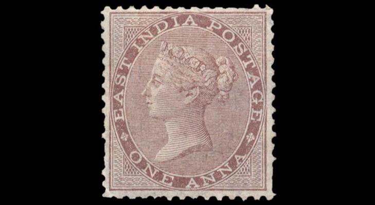 Индийская марка, 1856 год