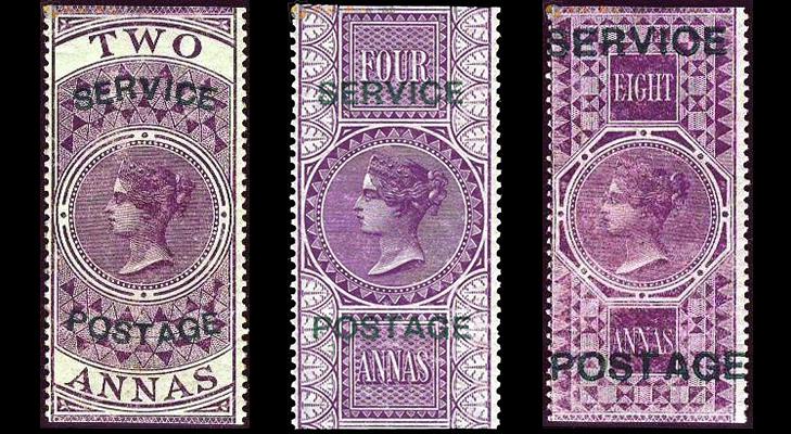 Индийские марки, 1866 год