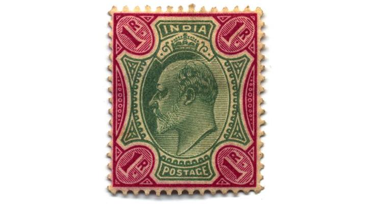 Индийская марка, 1902 год