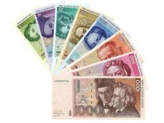 Банкноты Германии