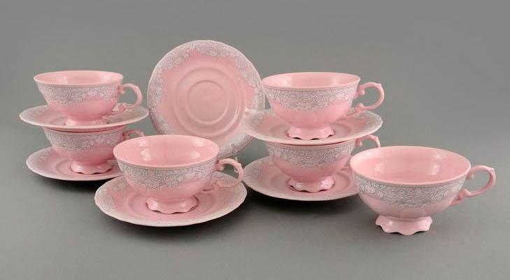 Розовый фарфор - особенность технологии