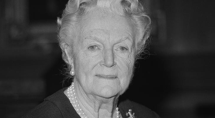 Кавалер ордена Британской империи Клементина Черчилль