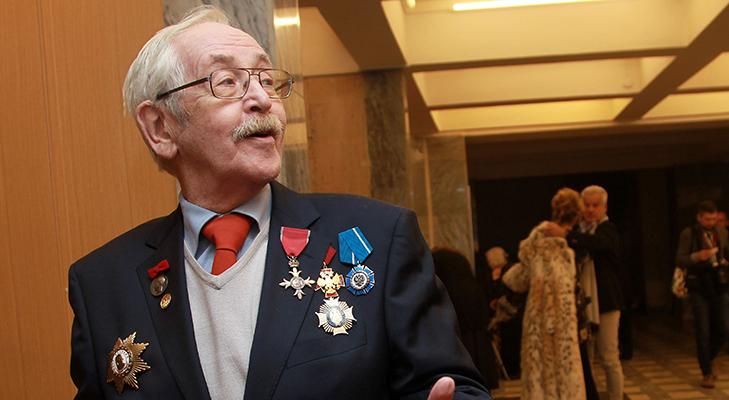 Кавалер ордена Британской империи Василий Ливанов
