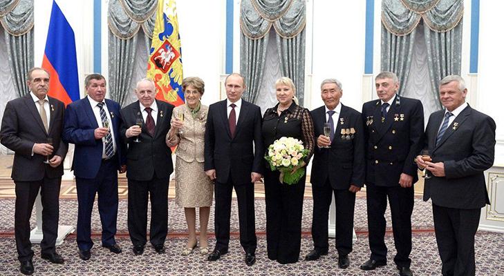 Герои Труда Российской Федерации