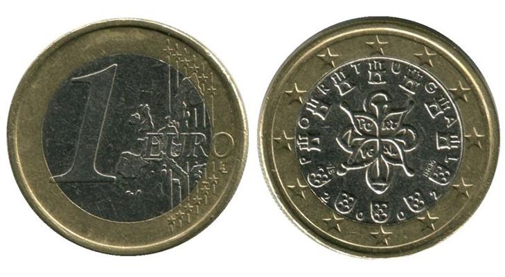 Португальские монеты евро