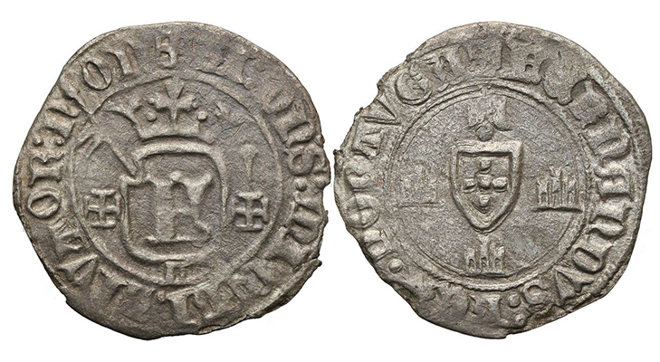 Dinheiro - первая монета Португалии