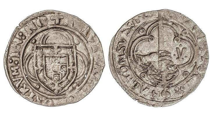 Монета Реал Бранко (Португалия)