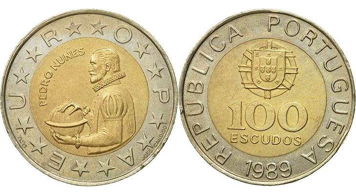 Португальский юбилейный золотой эскудо