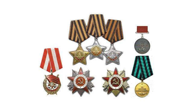 Ордена ВОВ по степени значимости