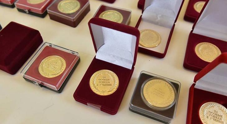 Общероссийская медаль «За особые успехи в учении» - описание