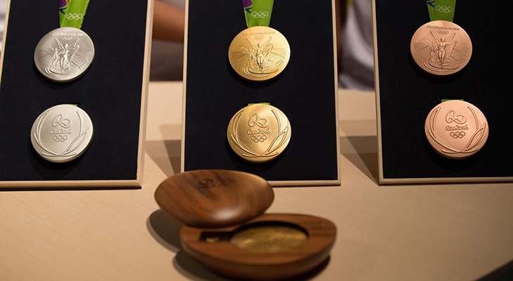 Золотые медали Олимпиады-16 - цена