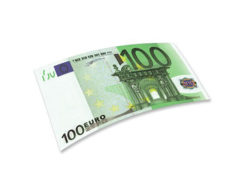 Банкнота 100 евро