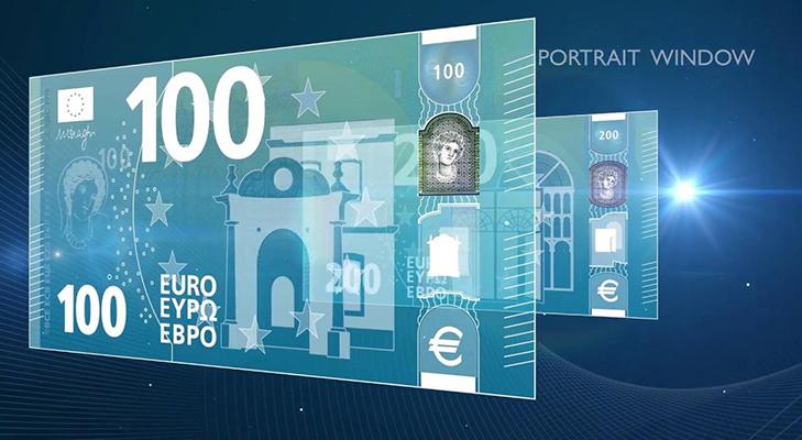 Новая банкнота 100 евро