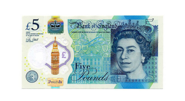 Банкноты фунта стерлингов
