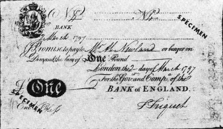 Фунт стерлингов 1694 года