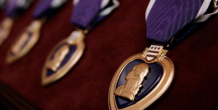 Медаль «Пурпурное сердце» - первая в истории США военная награда