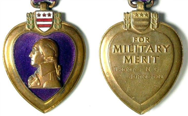 Медаль «Пурпурное сердце» - описание